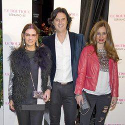 Marina Danko, Potty y su mujer Isabel en el 42 cumpleaños de Colate