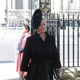 La Condesa de Wessex en una misa en memoria de David Frost