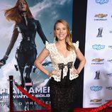 Scarlett Johansson en el estreno de 'Capitán América: El Soldado de Invierno'