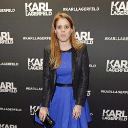 La Princesa Beatriz de York en la inauguración de la tienda Karl Lagerfeld en Londres