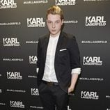 John Newman en la inauguración de la tienda Karl Lagerfeld en Londres
