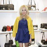 Pixie Lott en la inauguración de la tienda Karl Lagerfeld en Londres