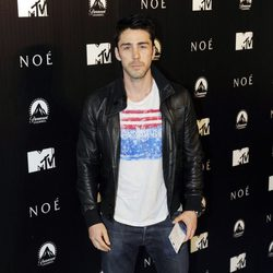 Rubén Sanz en el estreno de 'Noé' en Madrid
