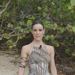 Raquel Sánchez Silva en la primera gala de 'Supervivientes 2014'