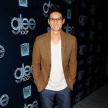 Harry Shum Jr. en la fiesta del episodio 100 de 'Glee'