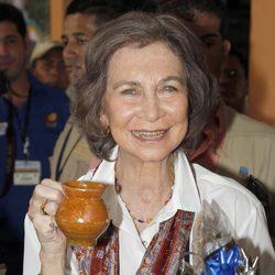 La Reina Sofía visita San Juan Ermita en Guatemala