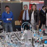 La Princesa de Asturias visitando las instalaciones del Centro Integrado de Formación Profesional de La Felguera