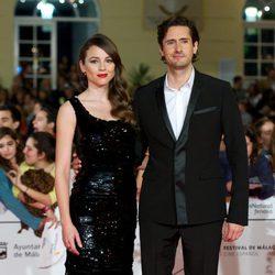 Leonor Watling y Juan Diego Botto en la apertura del Festival de Málaga 2014