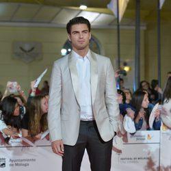 Maxi Iglesias en el estreno de 'Carmina y Amén' en el Festival de Málaga 2014