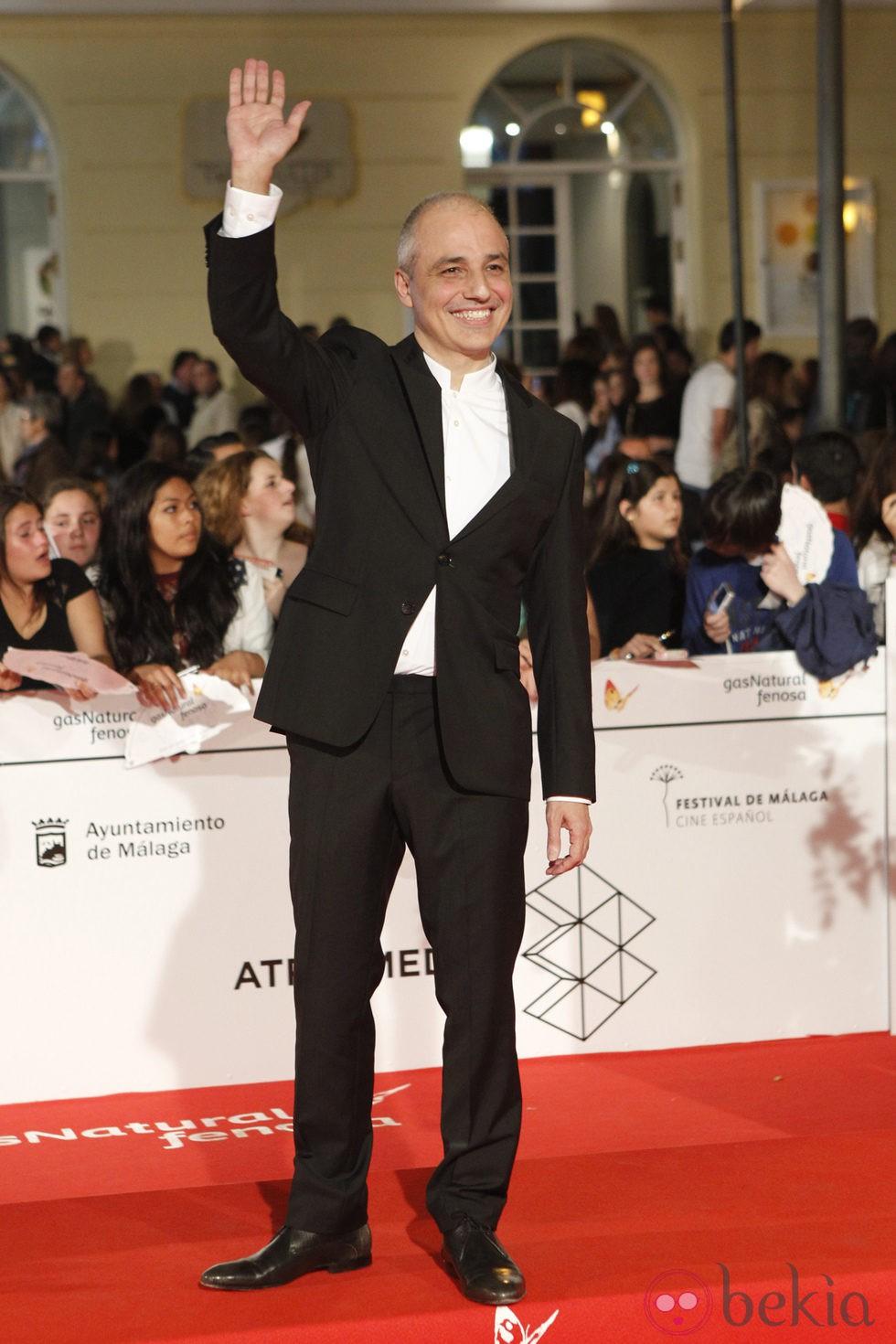 Pablo Berger en el estreno de 'Carmina y Amén' en el Festival de Málaga 2014