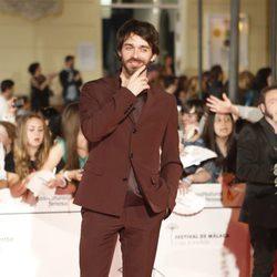 Alberto Amarilla en el estreno de 'Carmina y Amén' en el Festival de Málaga 2014
