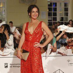 Belén López en el estreno de 'Carmina y Amén' en el Festival de Málaga 2014