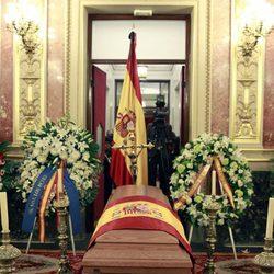 Capilla Ardiente de Adolfo Suárez