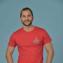 Antonio Tejado posando como concursante de 'Supervivientes 2014'
