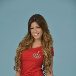 Oriana Marzoli posando como concursante de 'Supervivientes 2014'