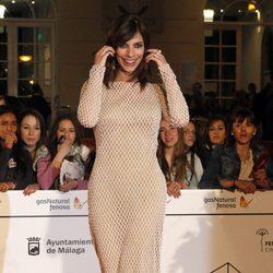 Maribel Verdú en la entrega del Premio Málaga Sur 2014
