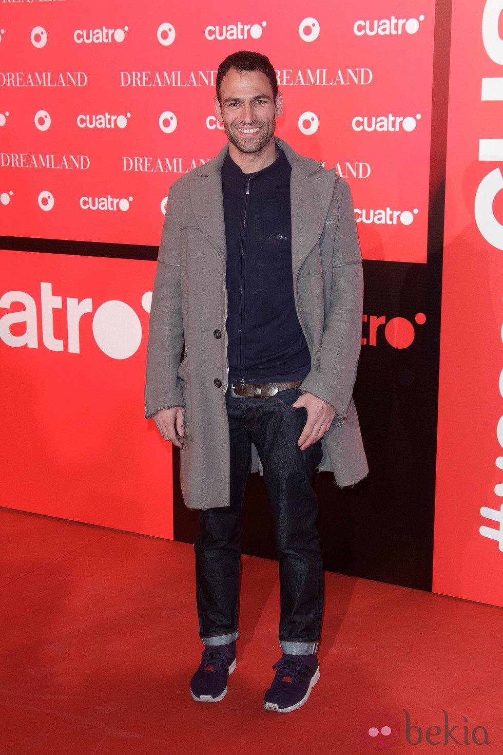 Dario Barrío en la fiesta de presentación de 'Dreamland' en Madrid