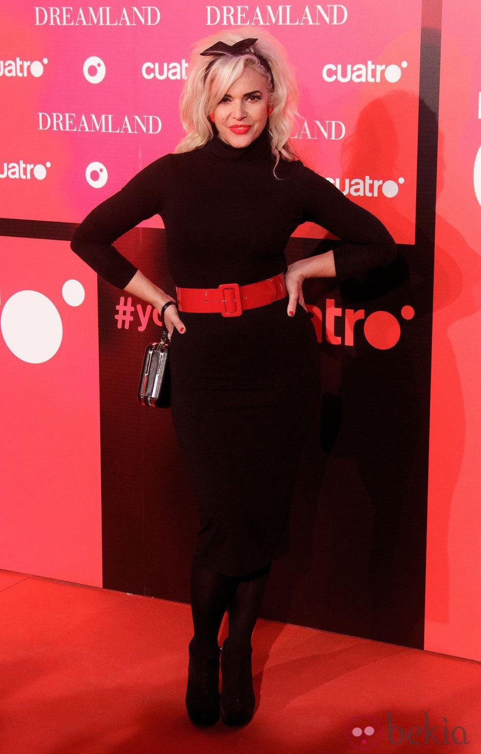 Silvia Superstar en la fiesta de presentación de 'Dreamland' en Madrid