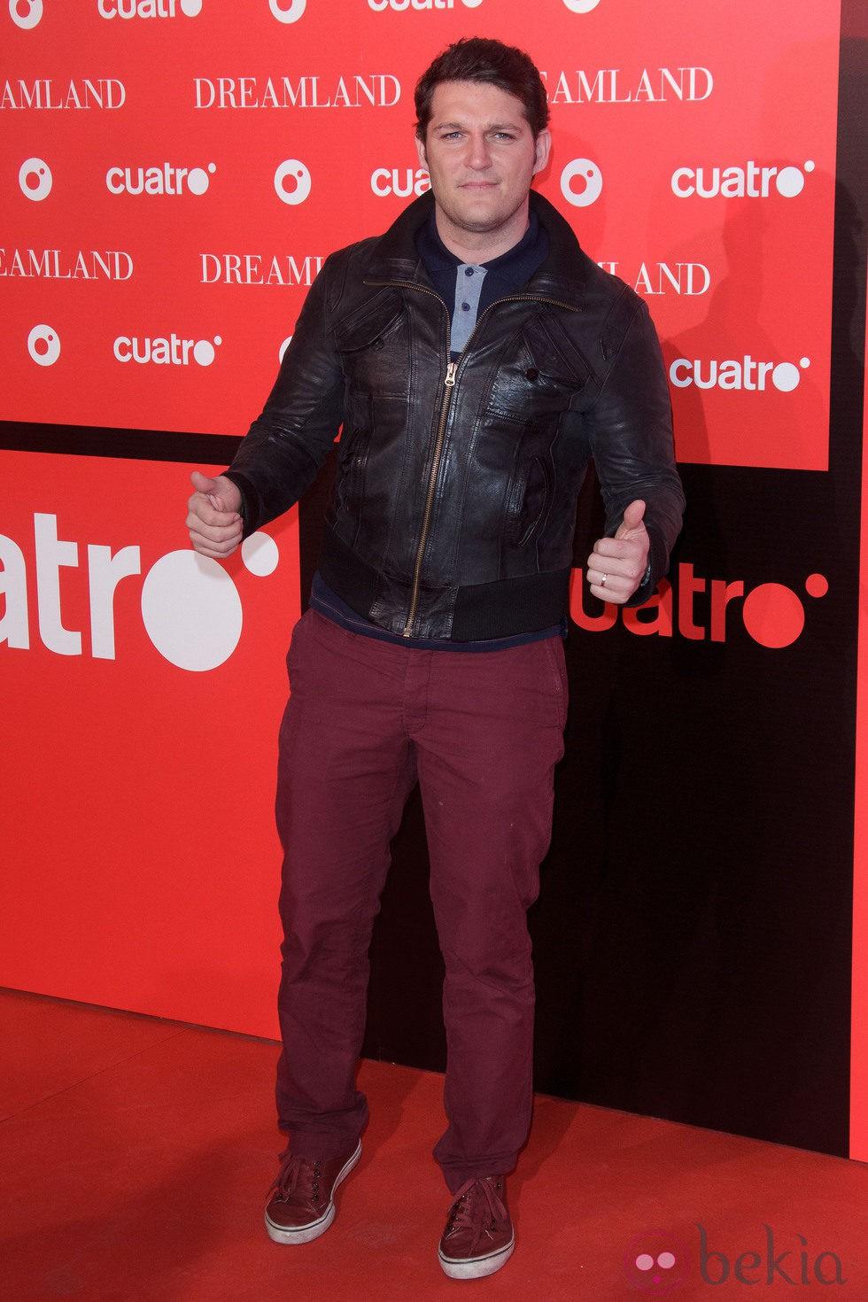 Manu Tenorio en la fiesta de presentación de 'Dreamland' en Madrid
