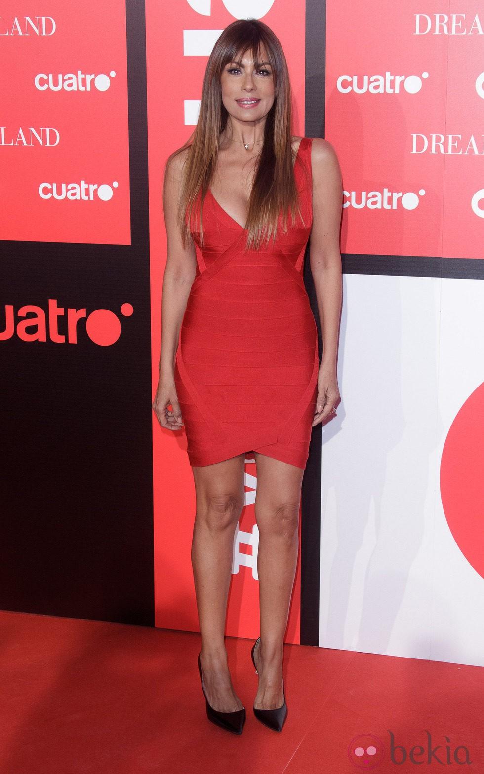Jacqueline de la Vega en la fiesta de presentación de 'Dreamland' en Madrid