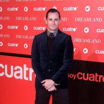 Asier Etxeandía en la fiesta de presentación de 'Dreamland' en Madrid