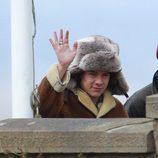 Harry Styles en el rodaje del nuevo videoclip