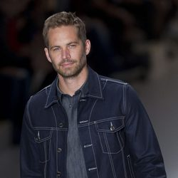 Paul Walker desfilando en Sao Paulo Fashion Week el año pasado
