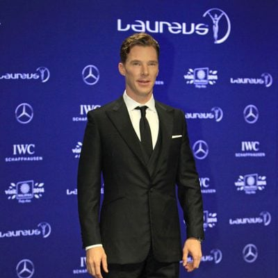 Benedict Cumberbatch en los Premios Laureus 2014
