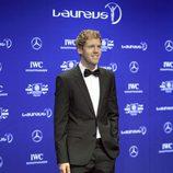 Sebastian Vettel en los Premios Laureus 2014