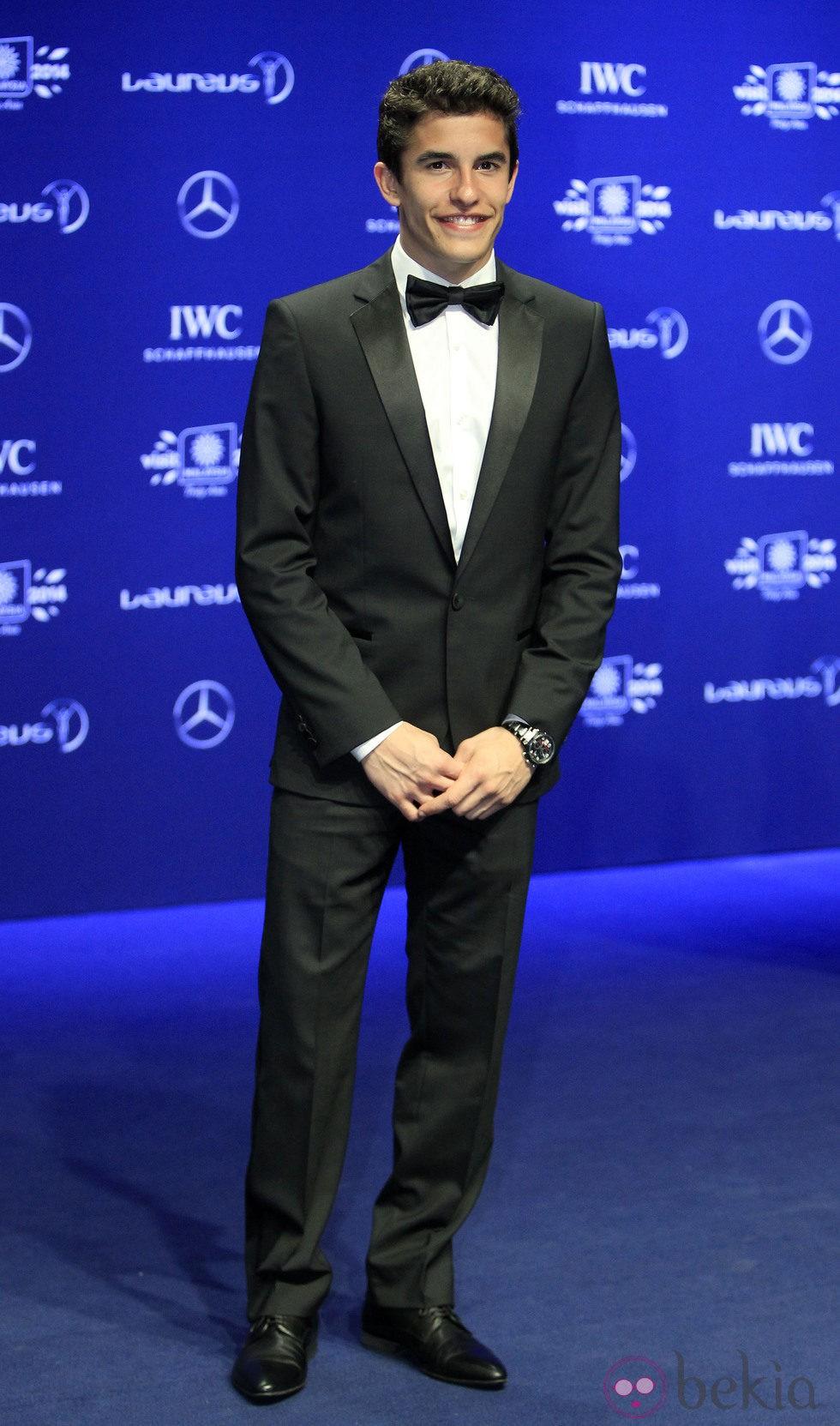 Marc Márquez en los Premios Laureus 2014