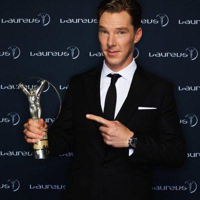 Benedict Cumberbatch, presentador de los Premios Laureus 2014