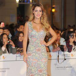 Alejandra Onieva en el estreno de 'Por un puñado de besos' en el Festival de Málaga 2014