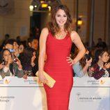 Andrea Duro en el estreno de 'Por un puñado de besos' en el Festival de Málaga 2014