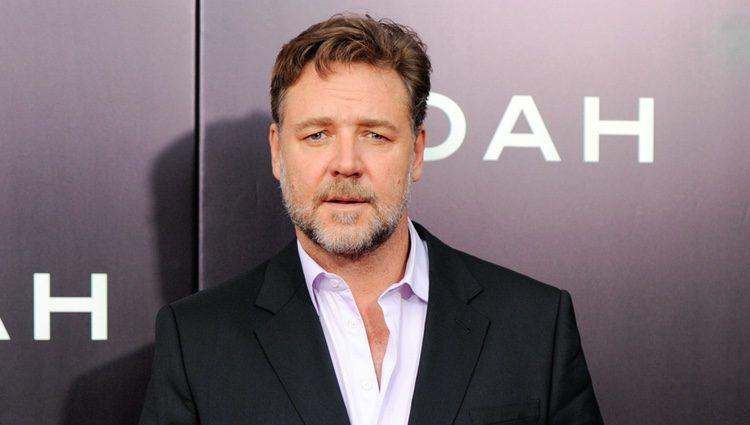 Russell Crowe en el estreno de 'Noé' en Nueva York