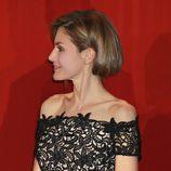 La Princesa Letizia con su nuevo peinado en una entrega de premios