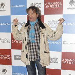 Eduardo Gómez en el estreno de '2 francos, 40 pesetas'