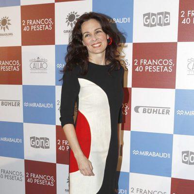 Silvia Marsó en el estreno de '2 francos, 40 pesetas'