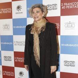 Kiti Mánver en el estreno de '2 francos, 40 pesetas'
