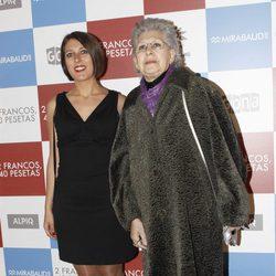 Pilar Bardem en el estreno de '2 francos, 40 pesetas'