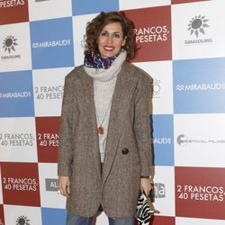 Lola Marceli en el estreno de '2 francos, 40 pesetas'