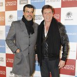 Andoni Ferreño y Ramón Langa en el estreno de '2 francos, 40 pesetas'