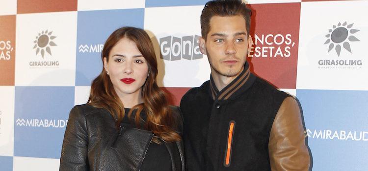 Andrea Duro y Joel Bosqued en el estreno de '2 francos, 40 pesetas'