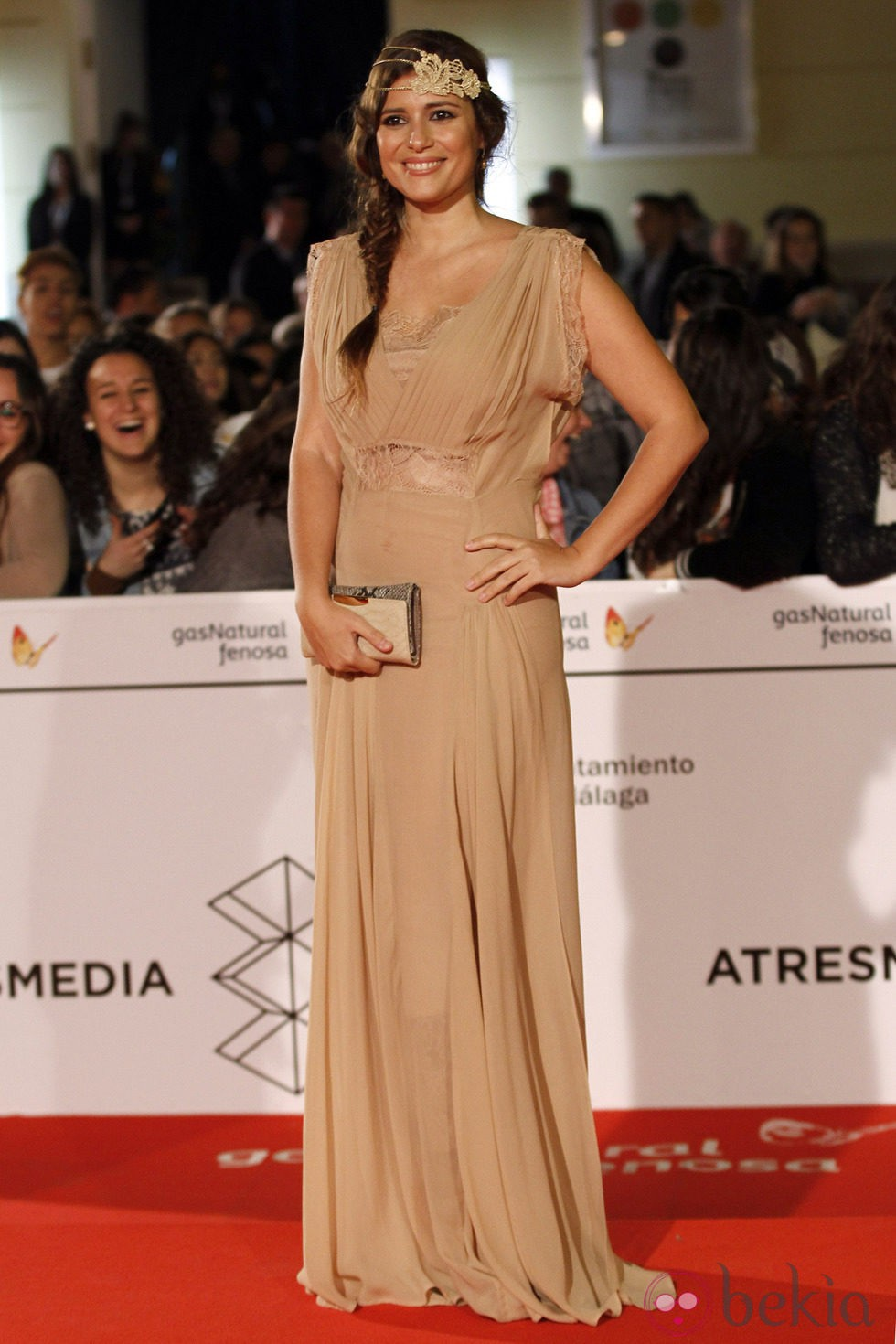 Ruth Armas en el estreno de 'Todos están muertos' en el Festival de Málaga 2014