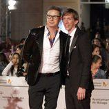 Jorge Cadaval en el estreno de 'Todos están muertos' en el Festival de Málaga 2014
