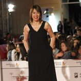Mabel Lozano en el estreno de 'Todos están muertos' en el Festival de Málaga 2014