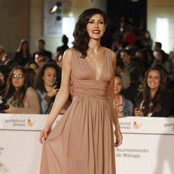 Nerea Barros en el estreno de 'Todos están muertos' en el Festival de Málaga 2014