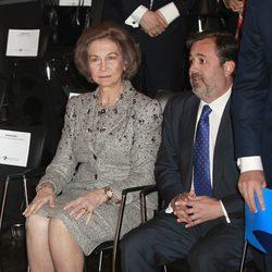 La Reina Sofía en la inauguración de una exposición sobre el mundo árabe