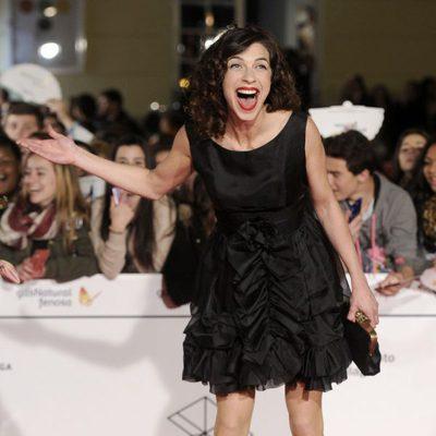 Natalia Tena en la gala de clausura del Festival de Málaga 2014