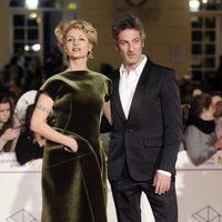 Najwa Nimri y Ernesto Alterio en la gala de clausura del Festival de Málaga 2014