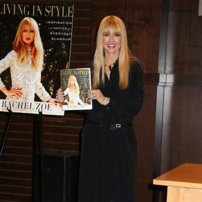 Rachel Zoe en la firma de su nuevo libro en Los Ángeles